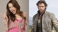 Hugh Jackman y Miley Cyrus juntos