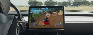 Elon Musk y su ambicioso plan por convertir sus coches eléctricos en consolas de videojuegos con ruedas: así es 'Tesla Arcade'