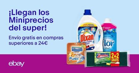 Miniprecios de eBay: hacemos una cesta de la compra para alcanzar los 24 euros de gasto y tener envío gratis