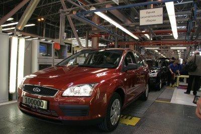 El Ford Focus 100.000 sale de San Petersburgo