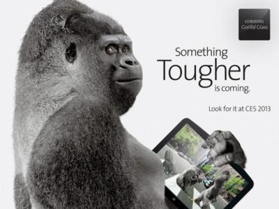 Gorilla Glass 3 dispuesto a hacerse ver en el CES 2013