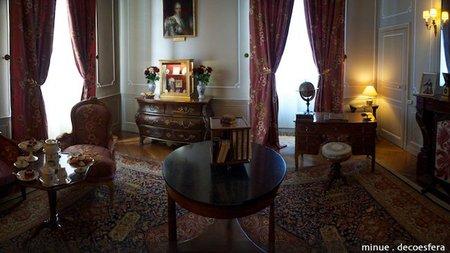 Cheverny, la mansión del Capitán Haddock en Tintín - interior