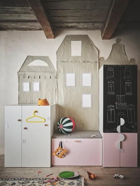 ¿Y si convertimos el almacenaje en un juego? 10 claves para que tu peque aprenda a ordenar su propio cuarto
