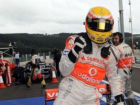 Lewis Hamilton saldrá desde la pole en Spa