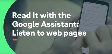 Google Assistant Lee Páginas Web
