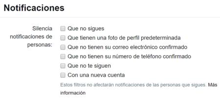 Que Notificaciones Silenciar En Twitter