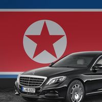 Así consiguió Kim Jong-un sus limusinas blindadas Mercedes-Benz