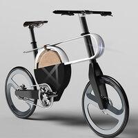 No es una tabla de planchar ni un banjo: esto de GEO es una bicicleta eléctrica que triunfaría en la Semana de la Moda de Nueva York