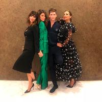 """Paula Echevarría, Juana Acosta y Maribel Verdú: tres estilos tan fantásticos como diferentes en la premiere de """"Ola de Crímenes"""" en Bilbao"""