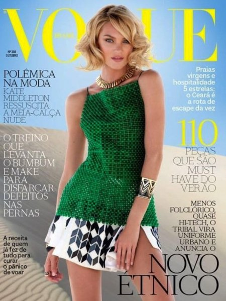 Duelo de Vogues: para este mes de Octubre ¿Brasil o Italia?