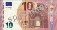 El nuevo billete de 10 euros ya está en camino