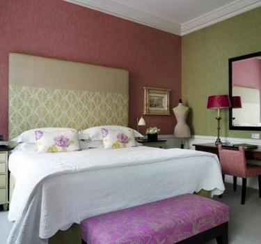 Aprendiendo a combinar tejidos: Hotel Covent Garden de Londres