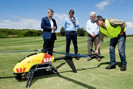 Little Ripper es un dron australiano que encuentra tiburones y salva vidas