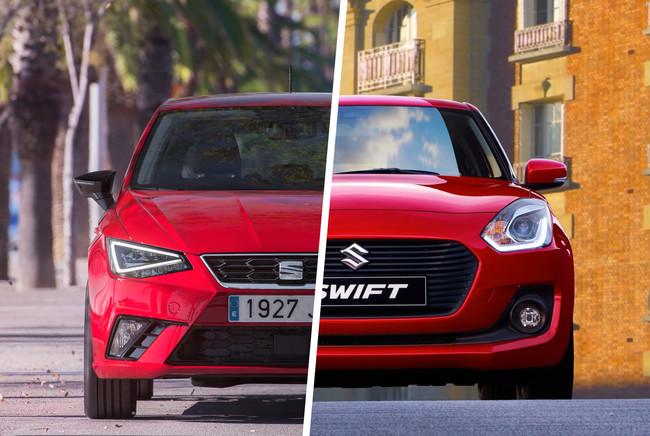 SEAT Ibiza 1.0 TSI vs. Suzuki Swift Boosterjet: Analizamos al par más entusiasta del segmento