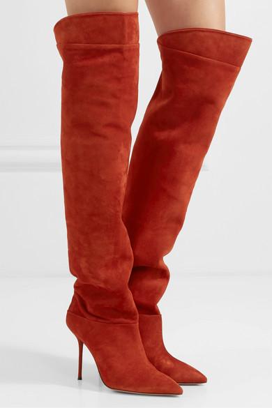 Botas Rojas Mujer 03