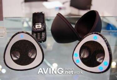 Samsin SBS-6600, altavoces Bluetooth
