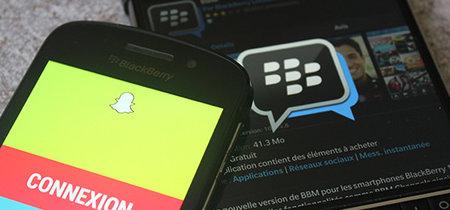 BlackBerry no entierra el hacha de guerra: tras Facebook, denuncia a Snapchat por violar varias de sus patentes