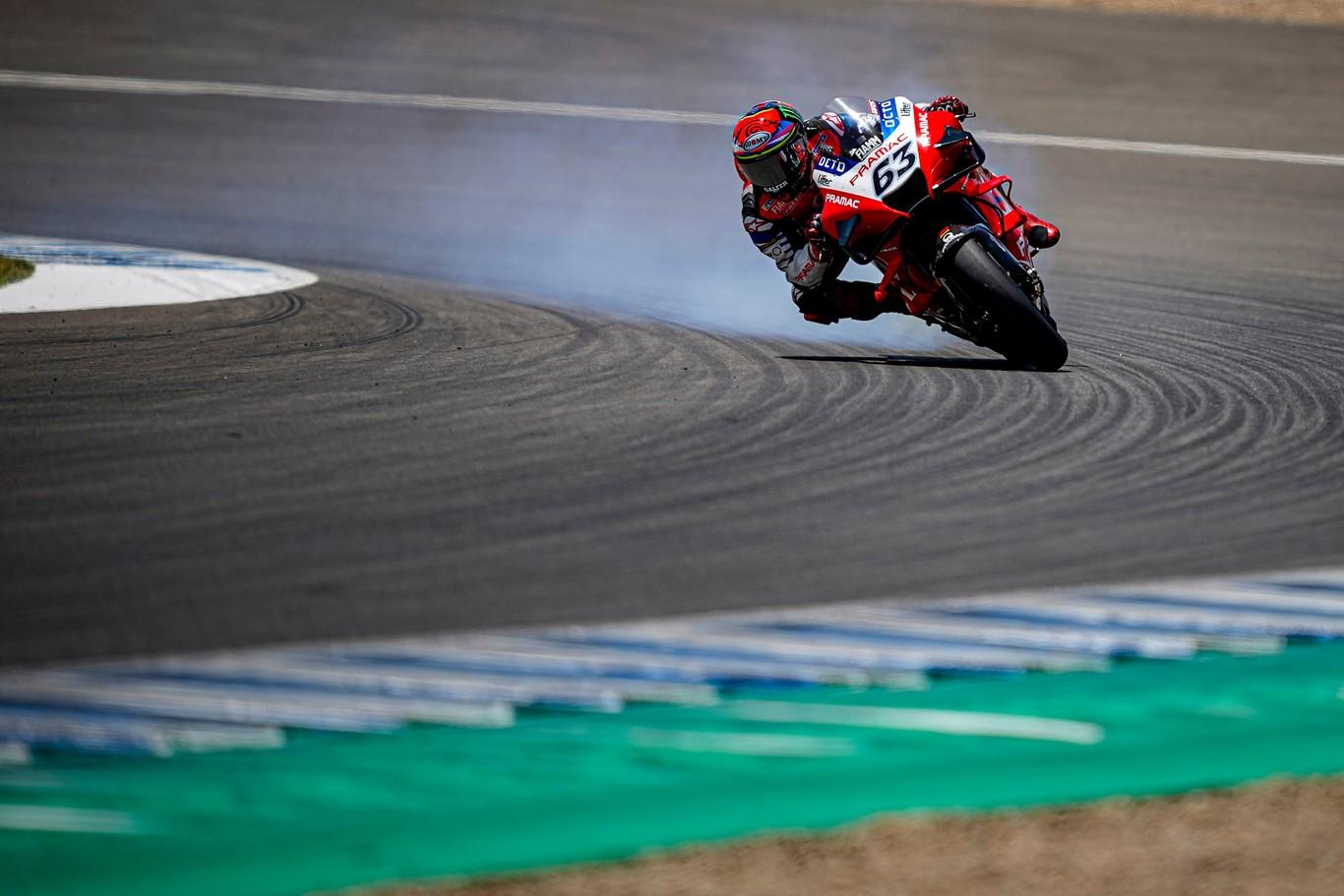 La eclosión Pecco Bagnaia en Jerez es una bendición para Ducati y ...
