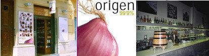Restaurante-tienda Origen 99,9%