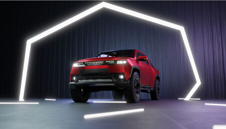 La pick-up eléctrica española de EcoPower Automotive