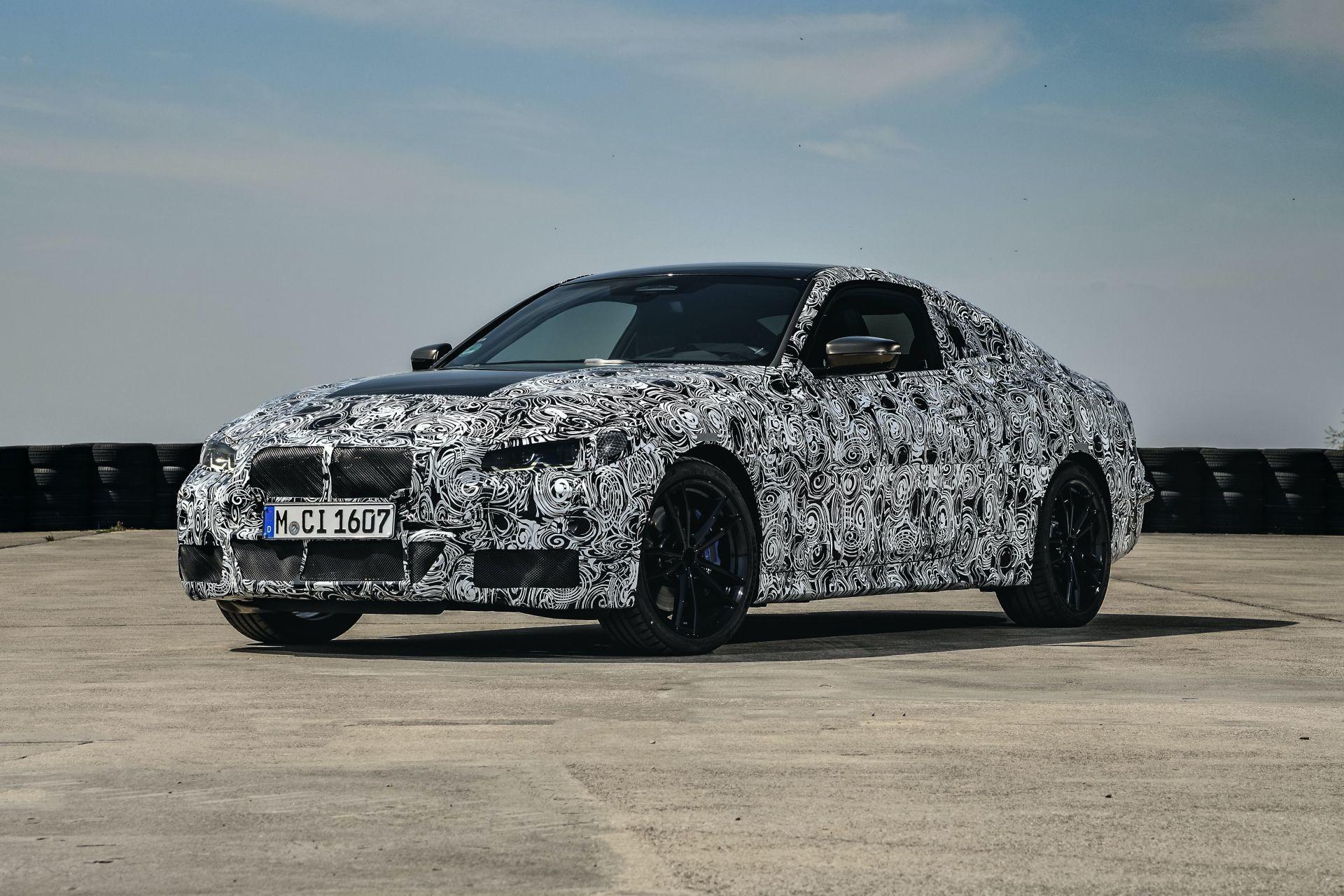 Foto de BMW Serie 4 2021 (fotos espía) (25/38)