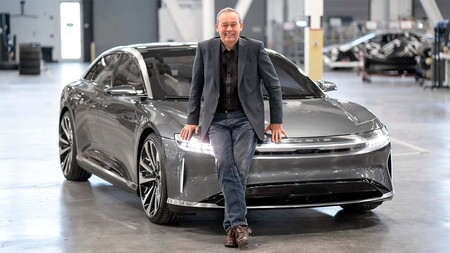 Peter Rawlinson Lucid Air