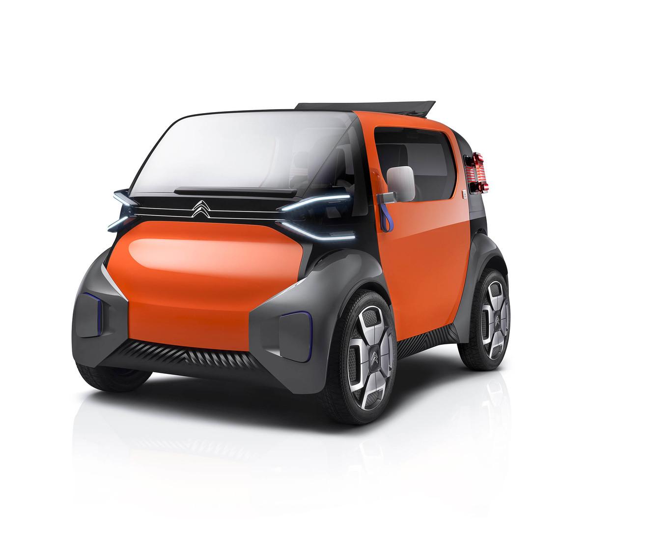 Coche Eléctrico Sin Carnet Citroën Ami One Objetivo Reinventar La Movilidad Urbana
