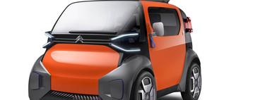 Y este es el Citroën Ami One, un prototipo de coche eléctrico sin carnet
