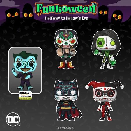 Reserva los Funko POP de DC Comics del Día de los Muertos con Amazon México