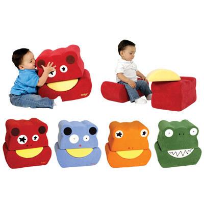 Originales asientos para niños