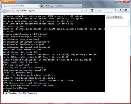 Ejecuta Linux en tu navegador con un emulador escrito en Javascript