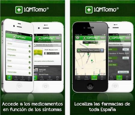 Con iQMTomo! también se puede localizar la farmacia más cercana