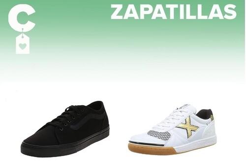 Chollos en tallas sueltas de zapatillas Munich, Brooks, Vans o Saucony en Amazon