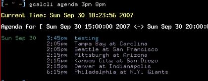 GCalCli, accede a Google Calendar desde la línea de comandos