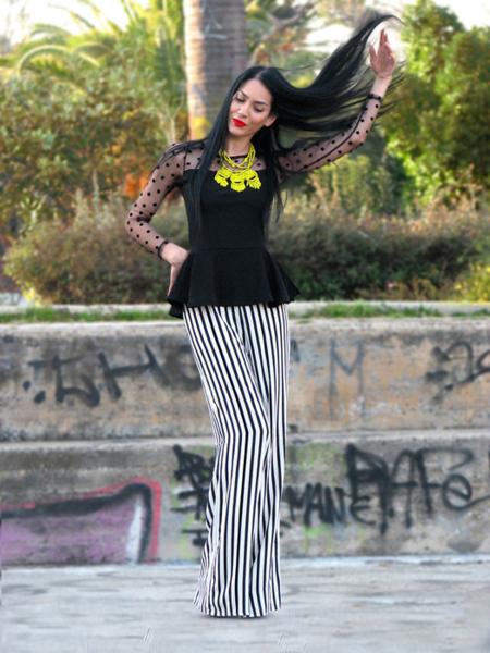 Konstantina Rayas moda pantalón