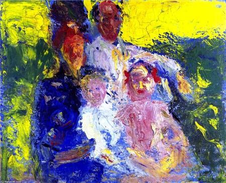 Richard Gerstl Schonberg Family
