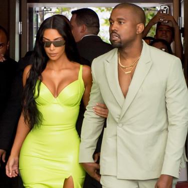 El último estilismo de boda de Kim Kardashian muestra su (nueva) obsesión