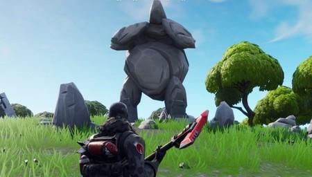 Guia Fortnite Un Hombre De Roca Gigante Un Tomate Coronado Y Un