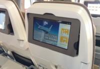 Lufthansa tiene una solución para que podamos usar nuestros tablets en los asientos de los aviones