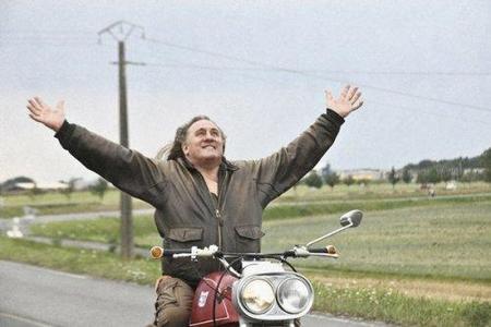 Una Münch Mammuth 4TTS 1200, protagonista de la última película de Gerard Depardieu