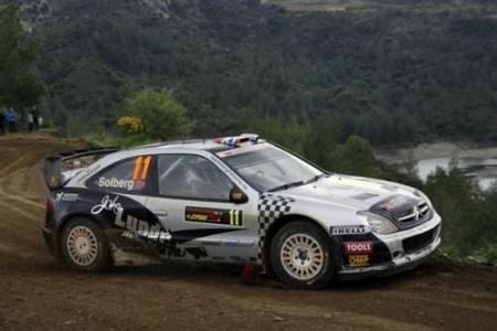 Petter Solberg tendrá en Cerdeña un Xsara WRC06