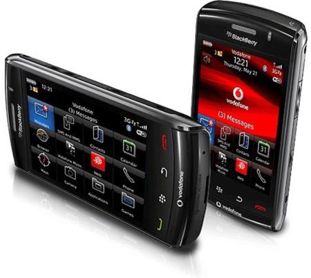 Blackberry Vodafone: Precios Storm 2, mejoras en tarifa Blackberry y la Bold 2 que llegará en diciembre