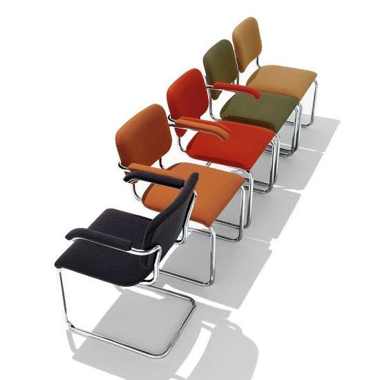 Marcel Breuer Cesca Side Chair 6216 Zrect