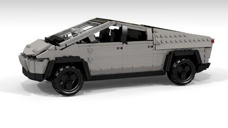¡Era de esperarse! Diseñador crea una Tesla Cybertruck con bloques Lego