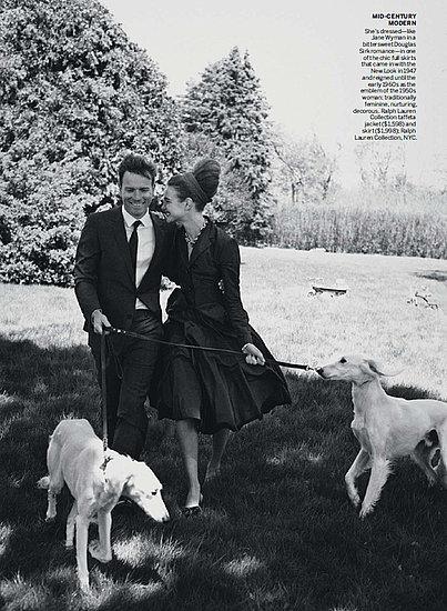 Foto de Natalia Vodianova en Vogue Estados Unidos estilo años 60 (3/10)