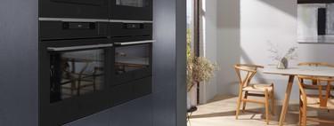 La tendencia de los electrodomésticos en color negro que aportan elegancia y distinción a la cocina