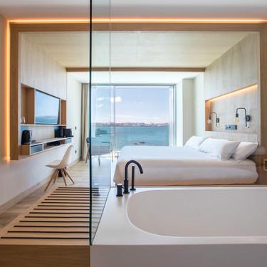 Este hotel boutique parece una Isla Griega pero en realidad está en Galicia y es uno de los más respetuosos con el medio ambiente de la zona