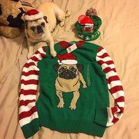 Los perritos pugs invaden nuestros Ugly Christmas Sweaters y se convierten en la tendencia más navideña