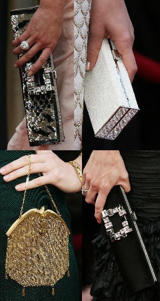 Los bolsos de mano de los Oscar's 2008