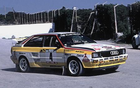Audi Quattro A2 (Rally de Portugal, 1984)